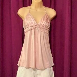 Soft Pink Halter Top